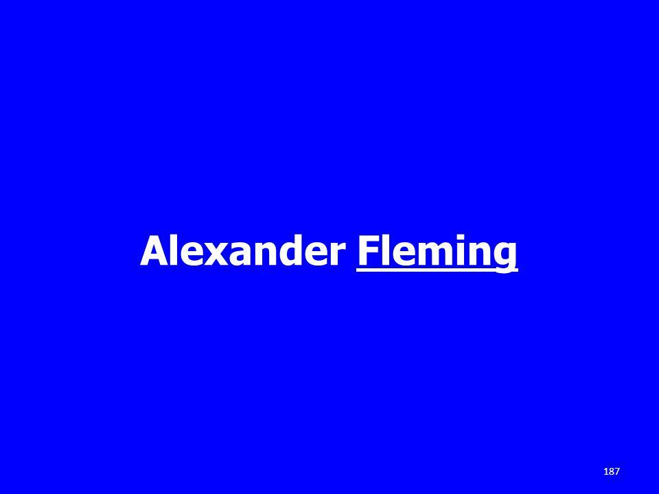 Alexander Fleming 187