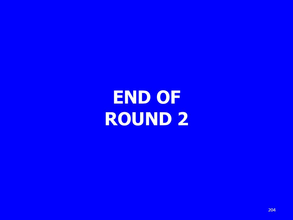 END OF ROUND 2 204