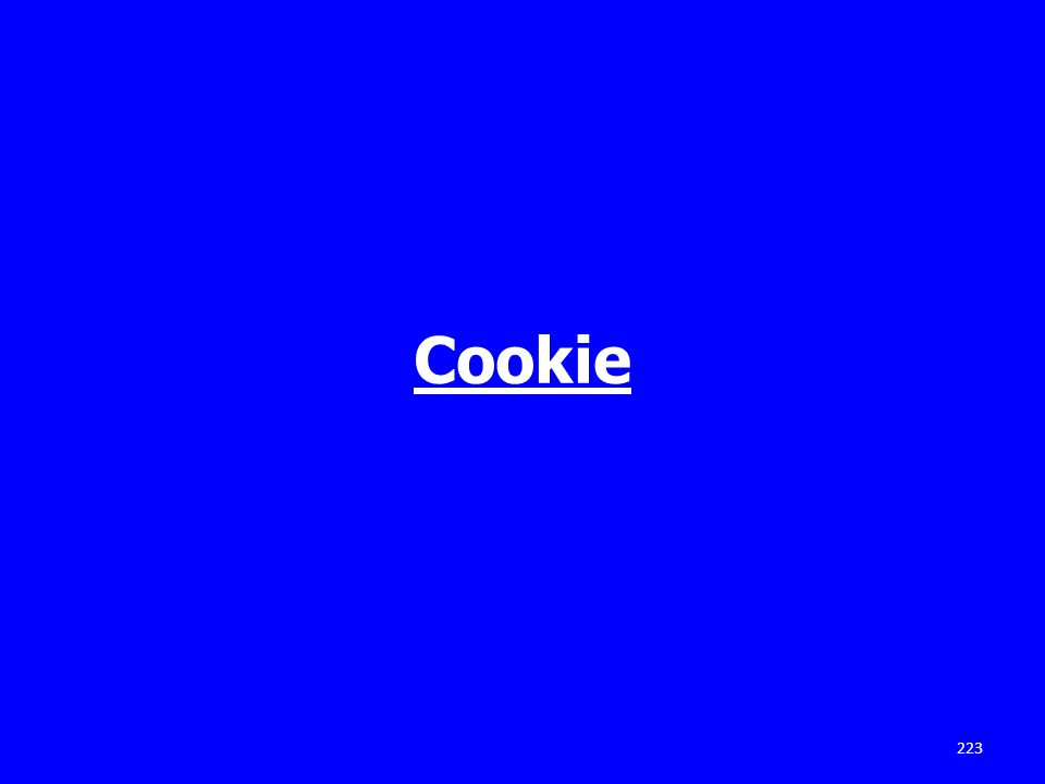 Cookie 223