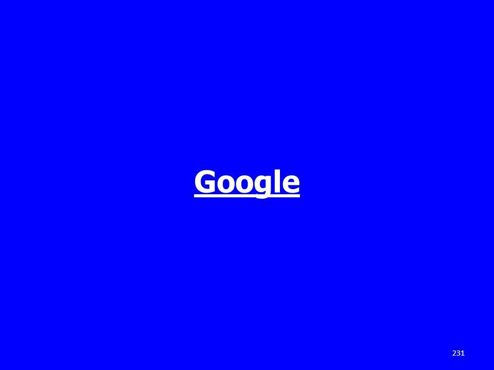 Google 231