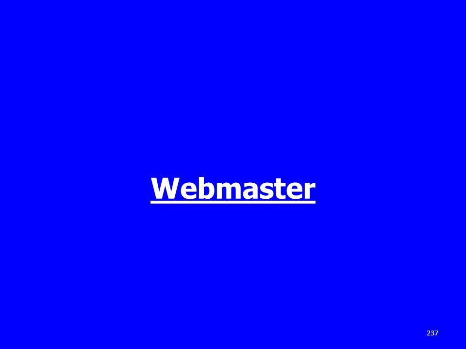 Webmaster 237