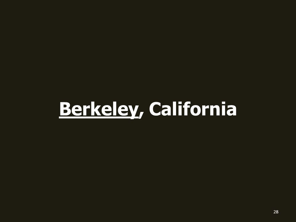 Berkeley, California 28