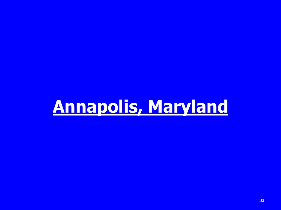 Annapolis, Maryland 33