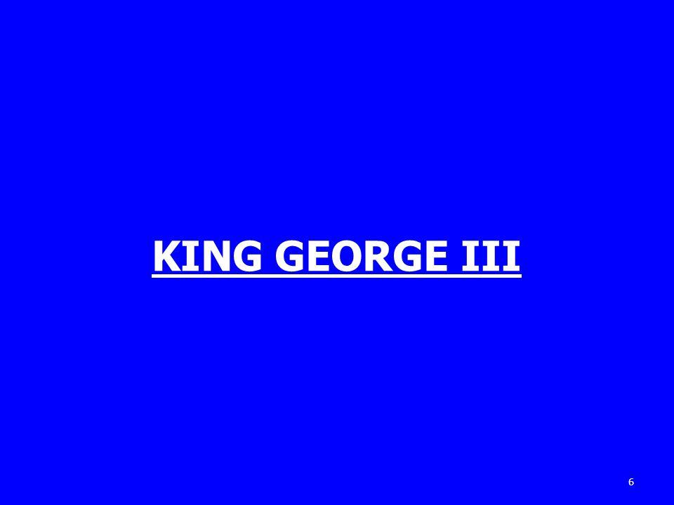 KING GEORGE III 6