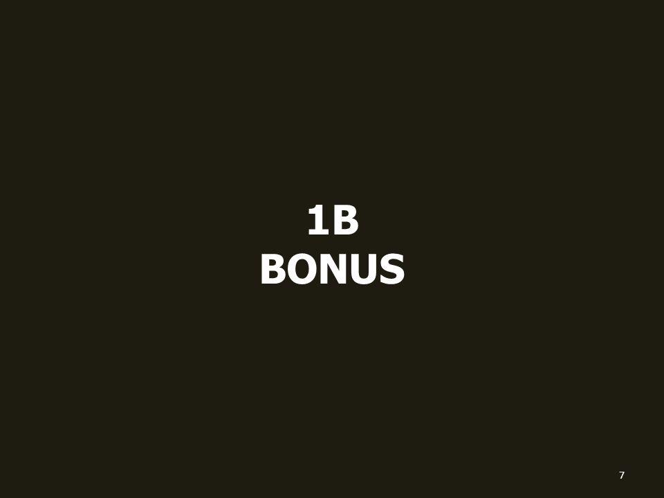 1B BONUS 7
