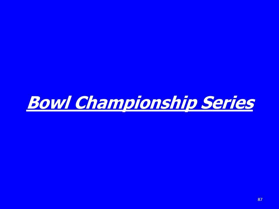 Bowl Championship Series 87