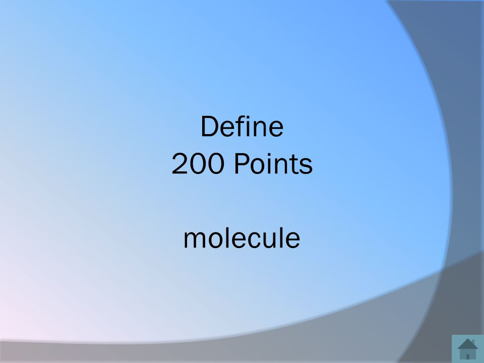 Define 200 Points molecule