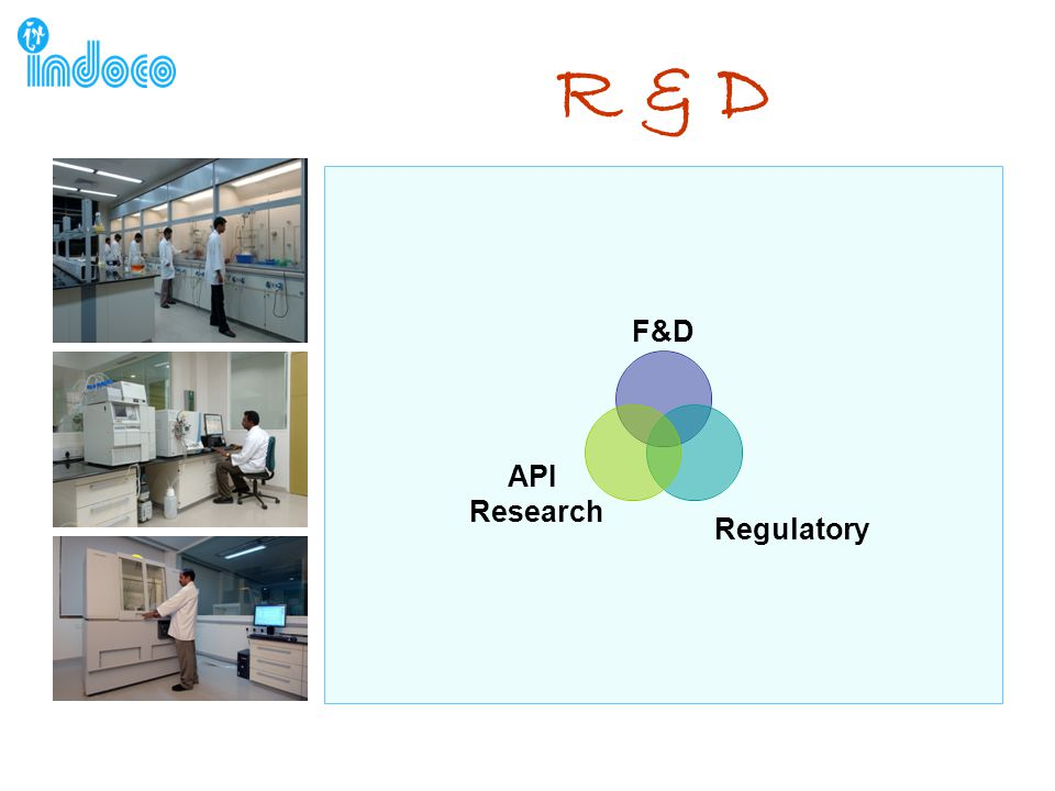 R & D F&D Regulatory API Research