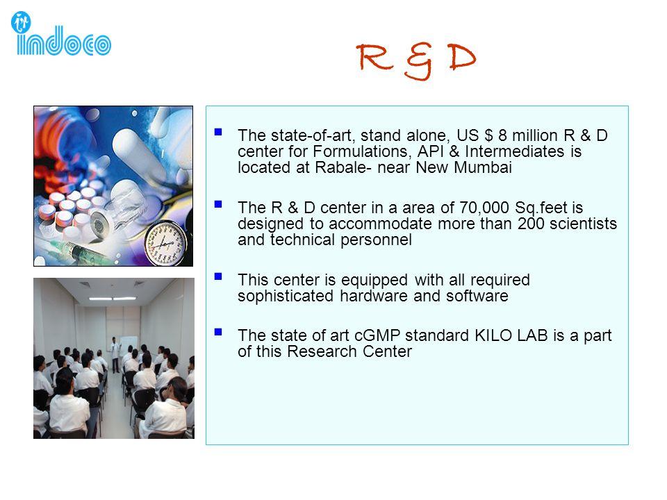 R & D F&D Regulatory API Research