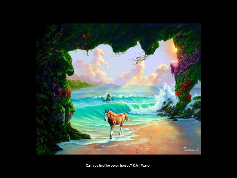 Can you find the seven horses? ©Jim Warren