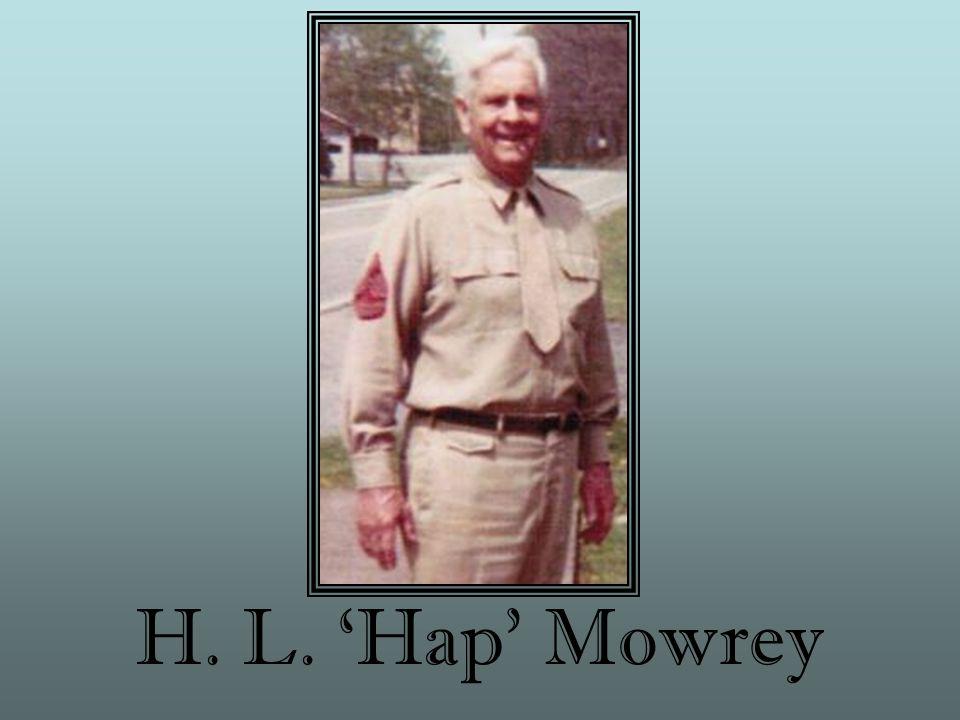 H. L. 'Hap' Mowrey