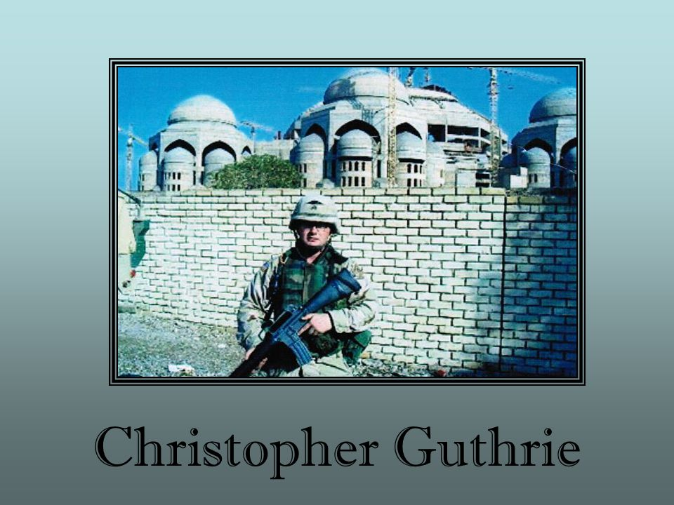Christopher Guthrie