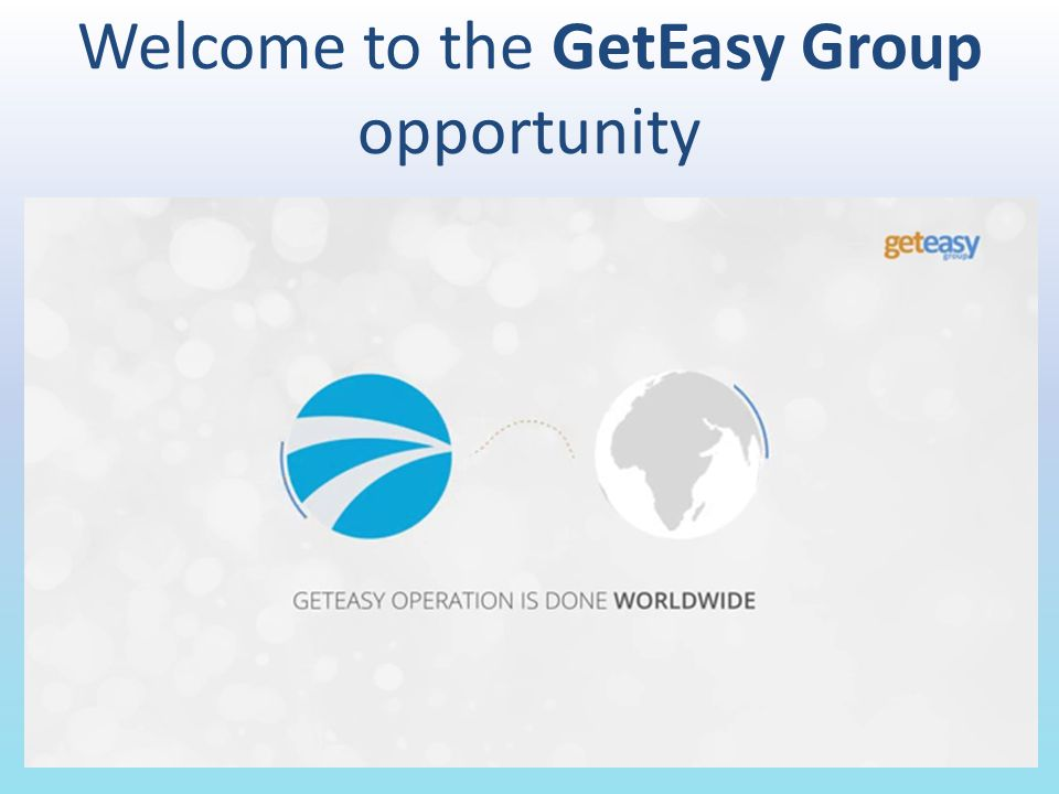 What is the Get Easy Group.