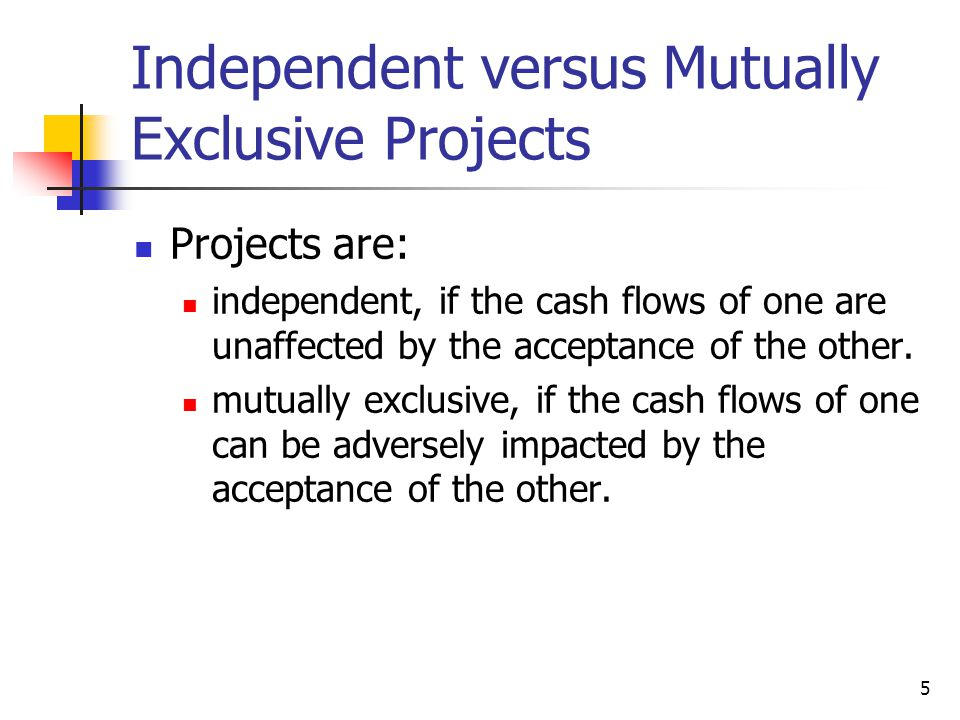 26 Why use MIRR versus IRR.MIRR correctly assumes reinvestment at opportunity cost = WACC.