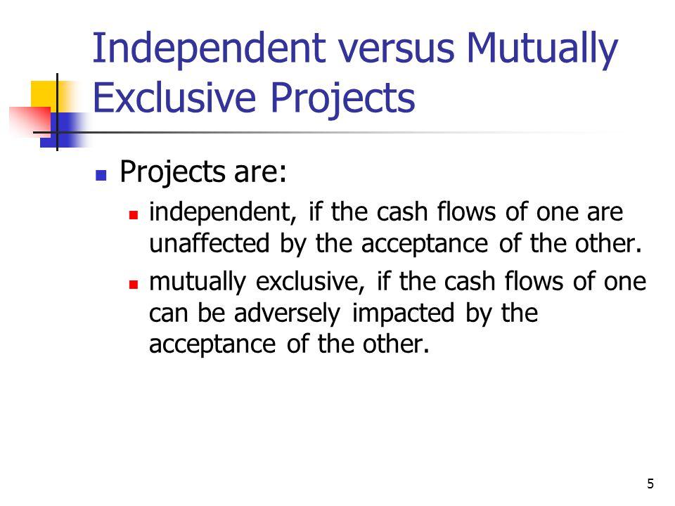 6 Cash Flows for Franchise L and Franchise S 108060 0123 10% L's CFs: -100.00 702050 0123 10% S's CFs: -100.00