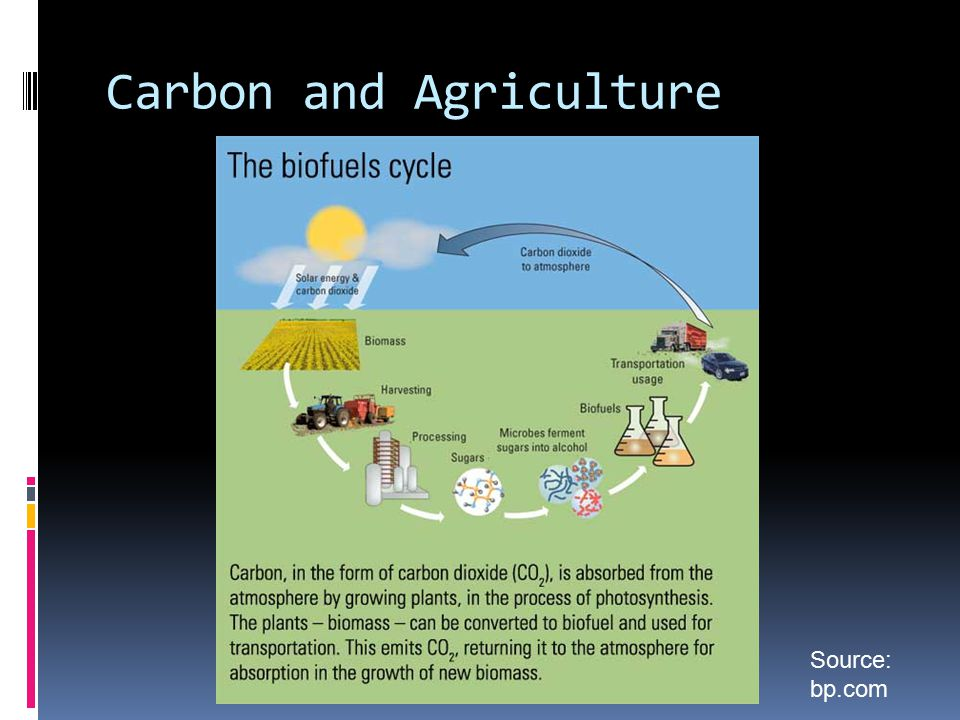 Carbon and Agriculture Source: bp.com
