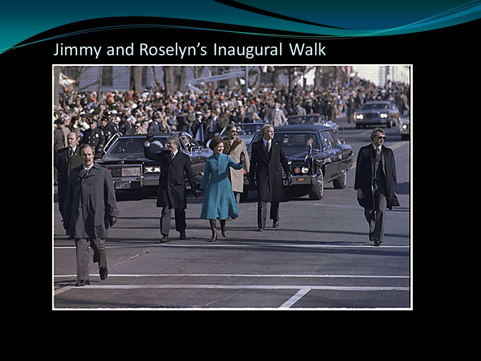 Jimmy and Roselyn's Inaugural Walk