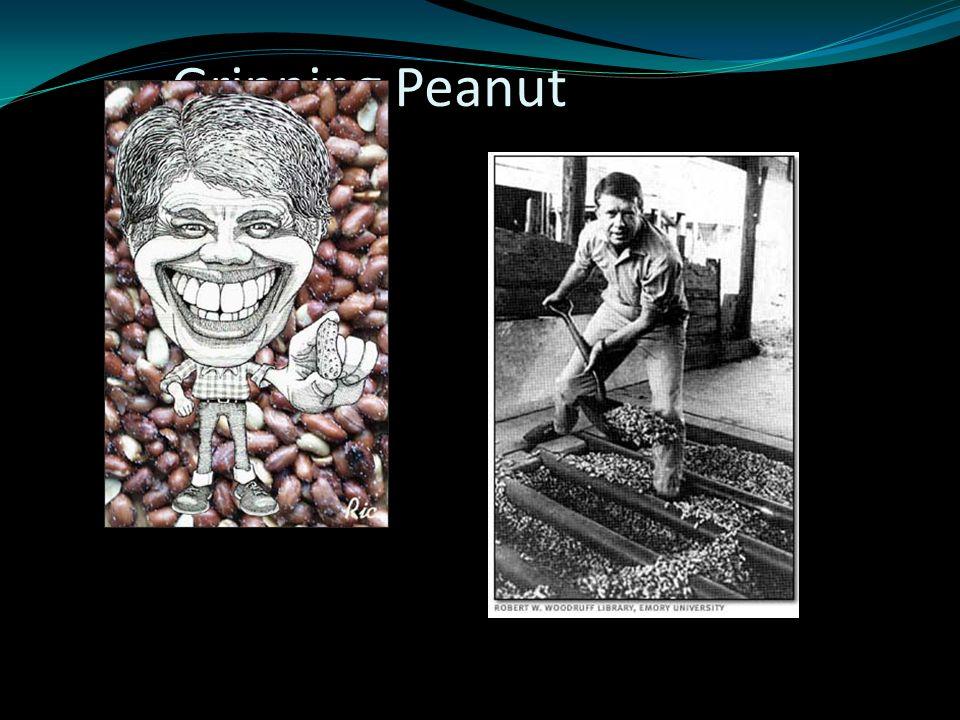 Grinning Peanut Farmer