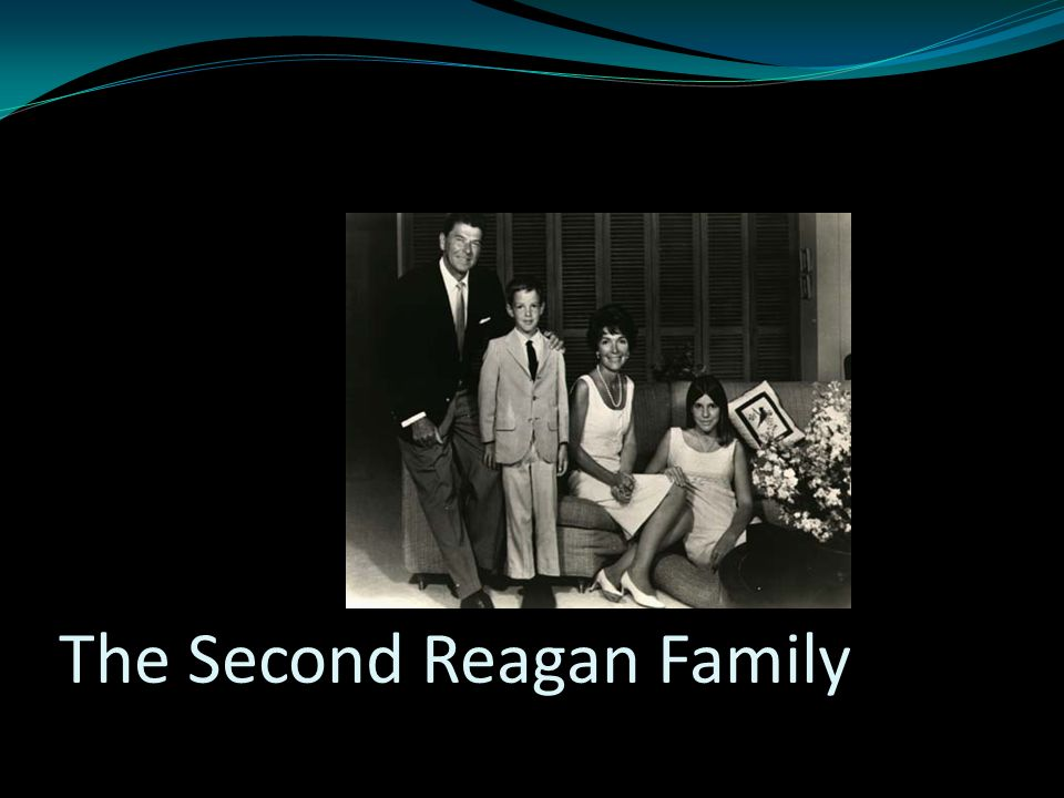 The Second Reagan Family