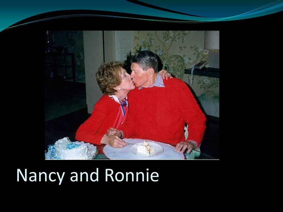Nancy and Ronnie