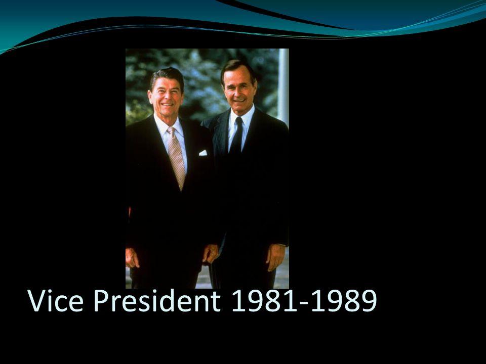Vice President 1981-1989