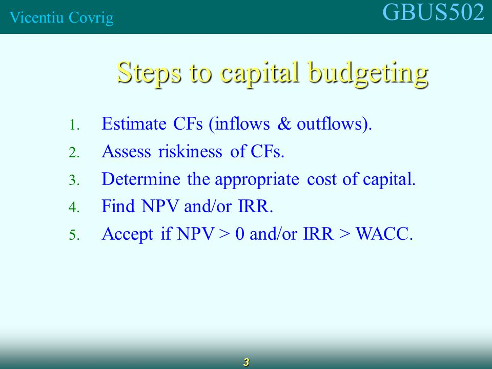 GBUS502 Vicentiu Covrig 4 What is the difference between normal and nonnormal cash flow streams.