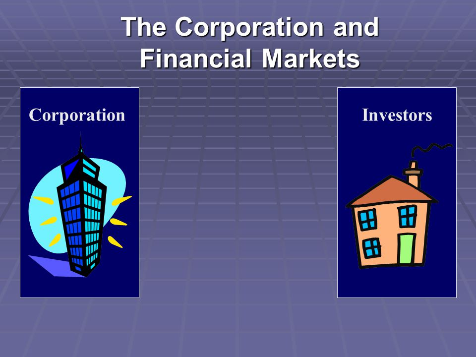 The Corporation and Financial Markets CorporationInvestors