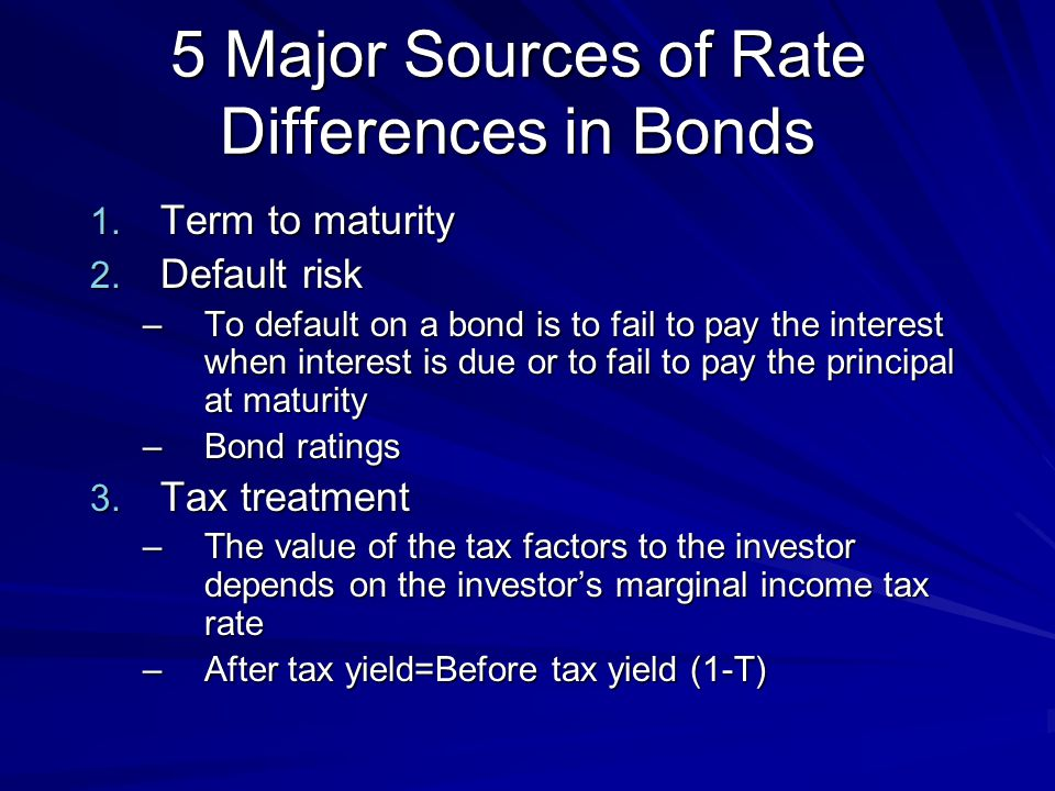 Par, Premium and Discount Bonds If a bond's coupon rate is equal to the market rate of interest (the bond's yield), the bond will always sell at par.