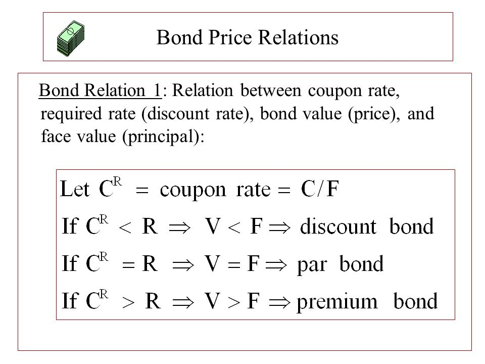 Valuing a Bond at Non-Coupon Date Example: 10% annual coupon bond with a face value of $1,000, original maturity of 7 years, and current maturity of 6.5.