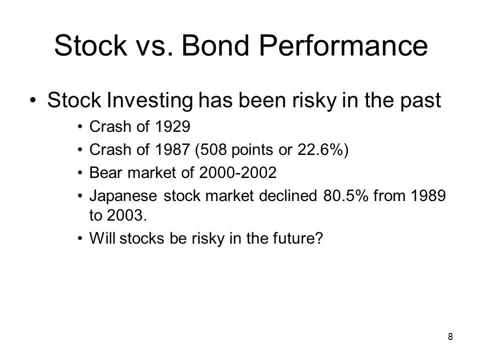 8 Stock vs.