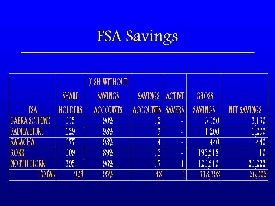 FSA Savings