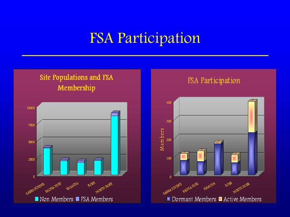 FSA Participation