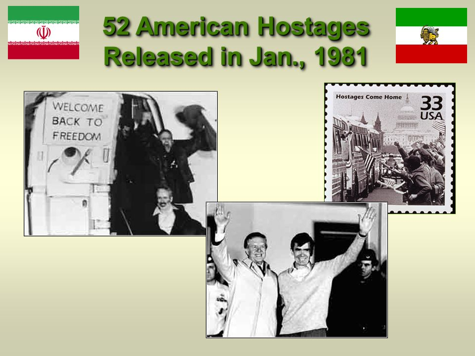 52 American Hostages Released in Jan., 1981