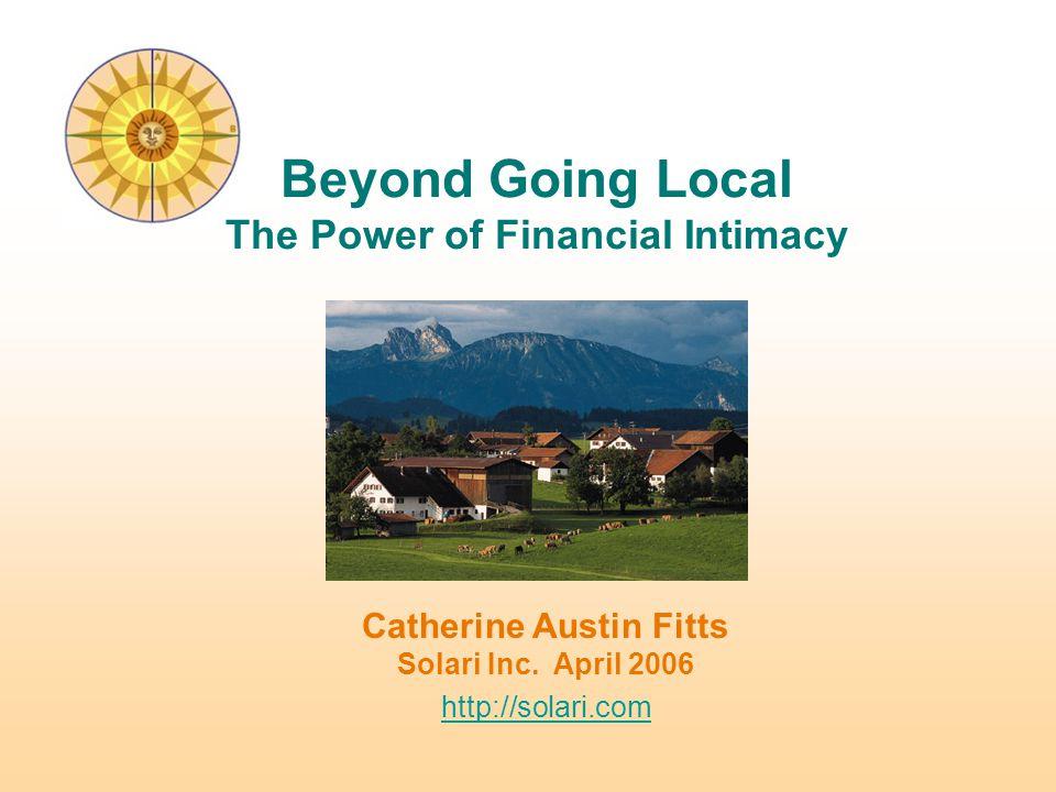 Catherine Austin Fitts Solari Inc.