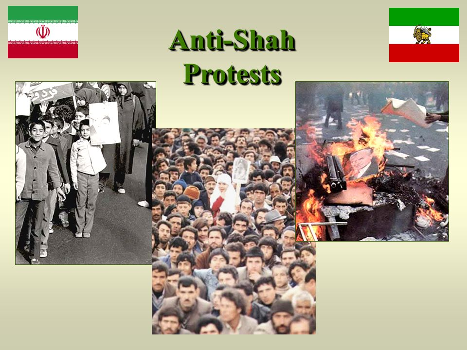 Anti-Shah Protests
