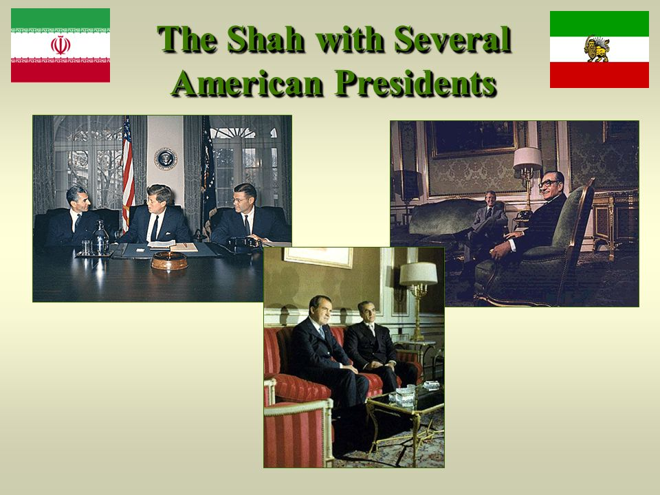The Shah with Several American Presidents