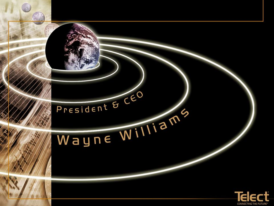 May 18, 2001 Wayne E. Williams © 2001