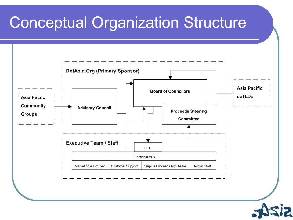 Conceptual Organization Structure