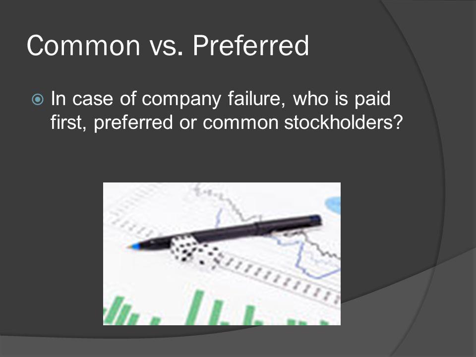 Common vs.