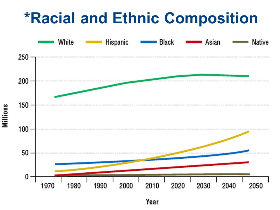 *Racial and Ethnic Composition