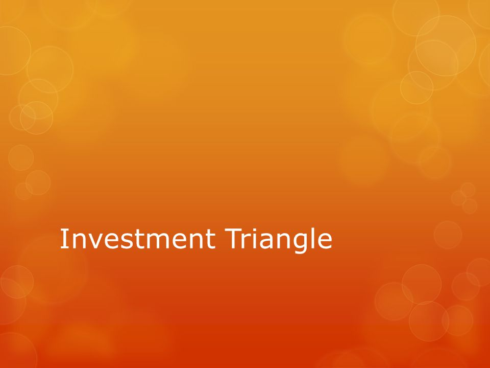 Investment Triangle