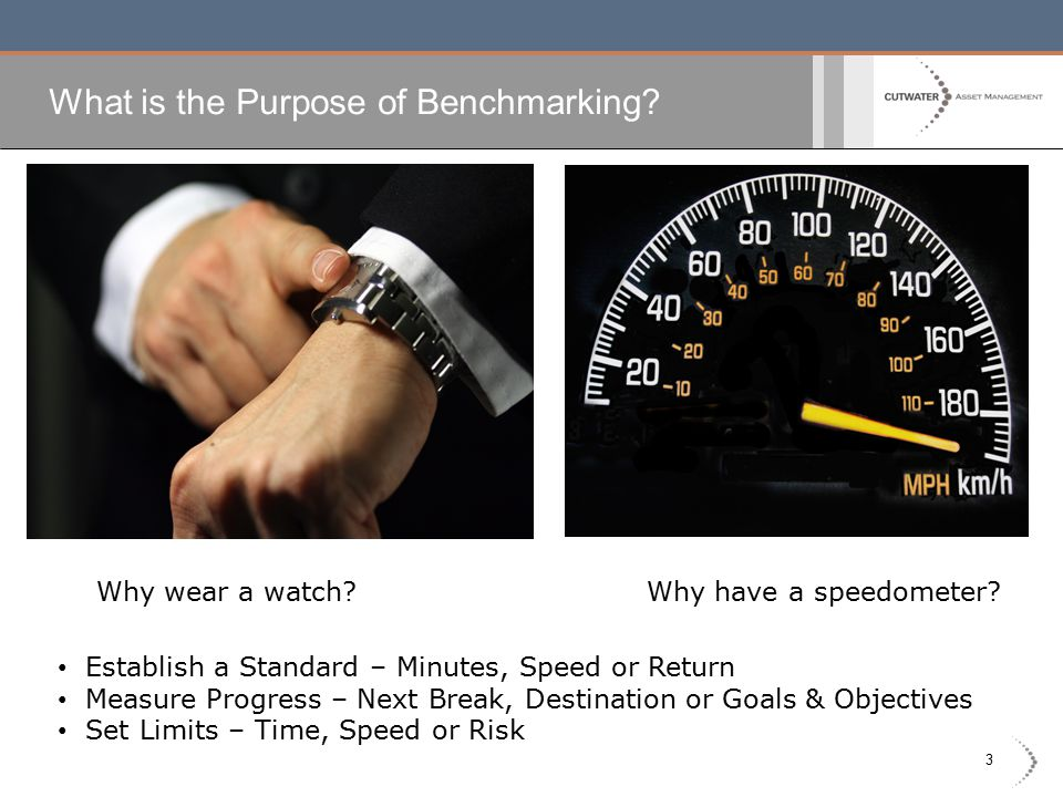 3 What is the Purpose of Benchmarking. Why wear a watch.
