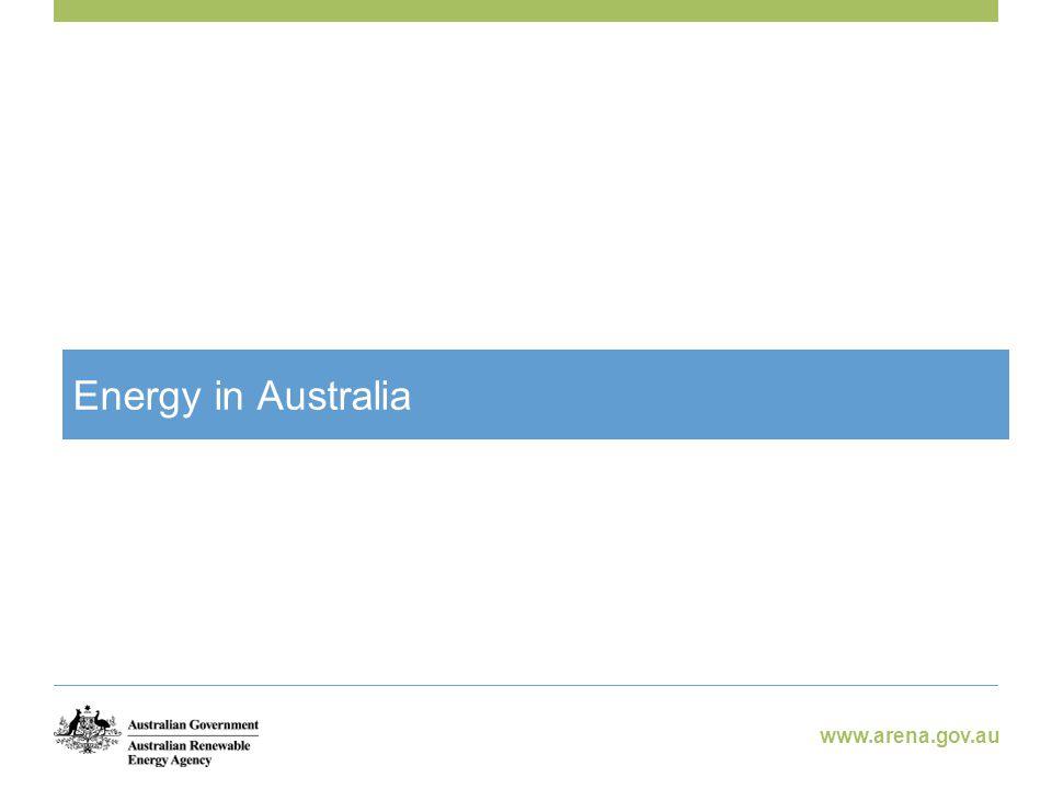 www.arena.gov.au Consultation Process