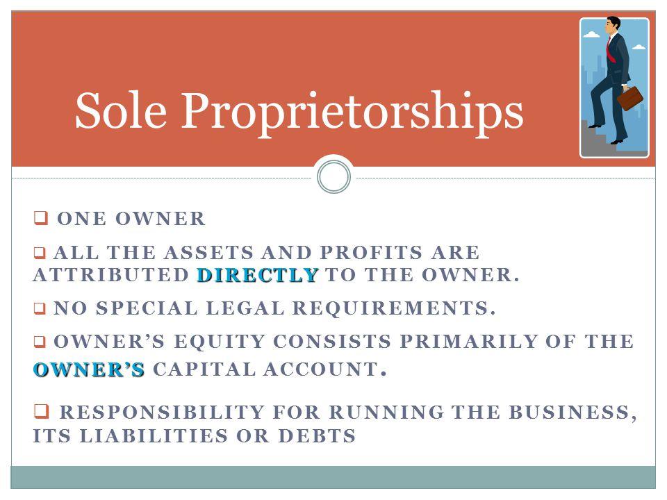 Sole (Single) Proprietorship Partnership Corporation Co-operative