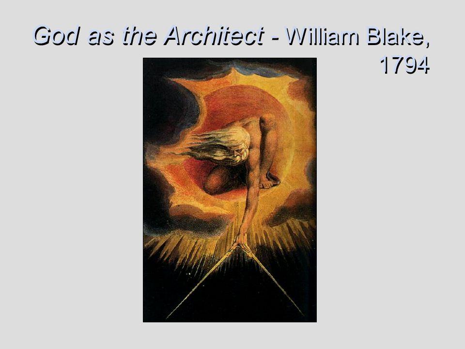 God as the Architect - William Blake, 1794