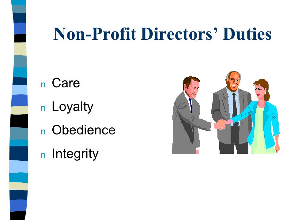 Financial Executive's Responsibilities n Maintain financial accounts with due diligence.