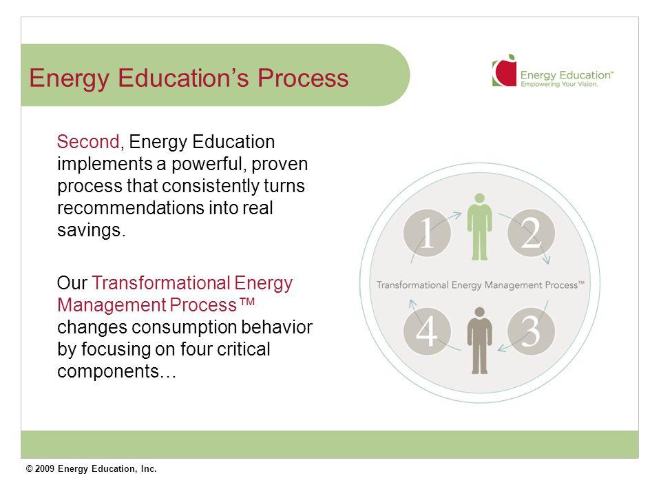 © 2009 Energy Education, Inc. Assessment + Planning 1