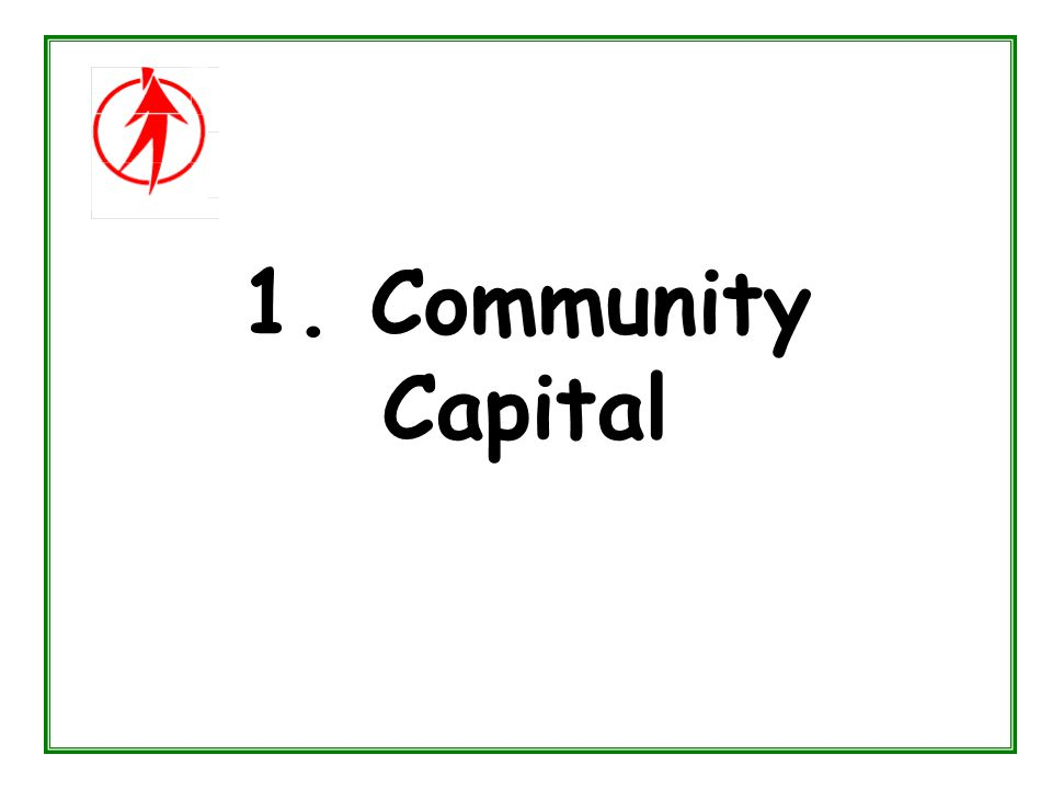 1. Community Capital