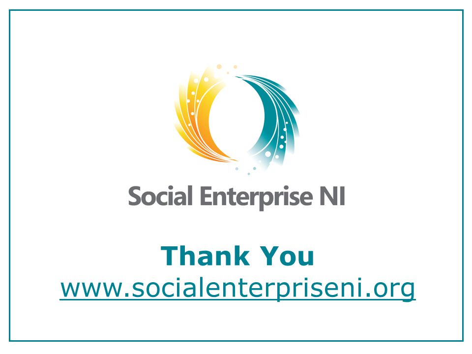 Thank You www.socialenterpriseni.org