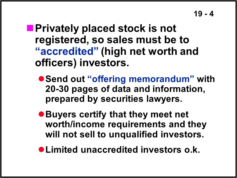 19 - 25 Leverage Buyout (LBO) Steps: Repurchase by Management and associated groups Funds provided by management and associated groups & HEAVY DEBT Change operations/incentives and/or sell some assets Later go public again, at tidy profit